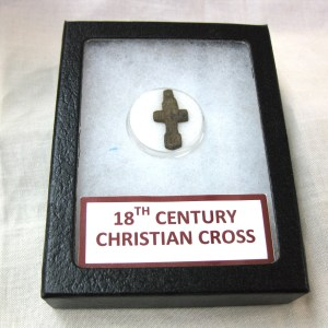 18th Century Christian Cross Metal Detected in Germany