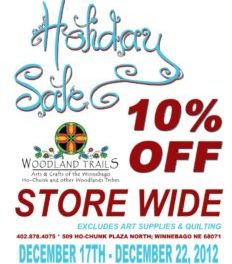 Woodland Trails Holiday Sale!