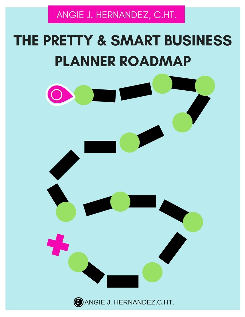 The Pretty & Smart Business Planner Roadmap