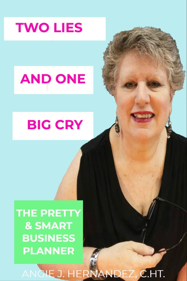2 LIES & 1 BIG CRY WITH ANGIE J. HERNANDEZ