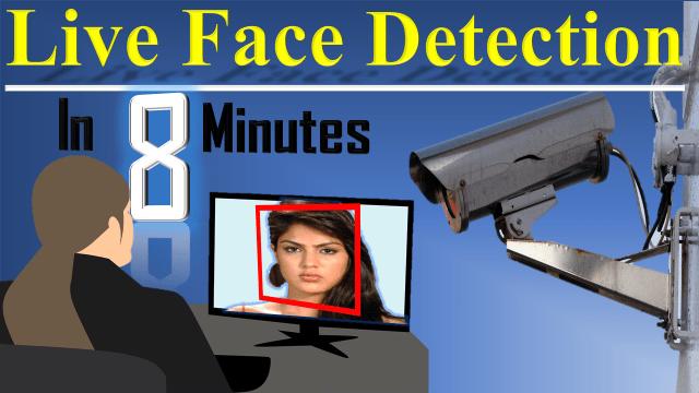 live face detection app