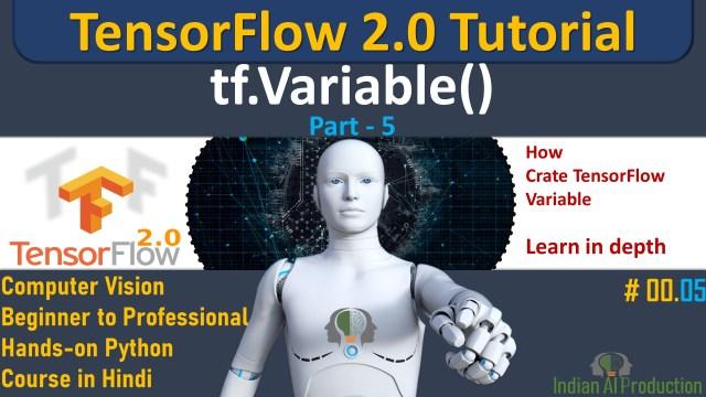 tensorflow variable