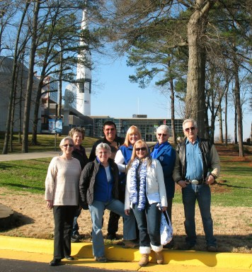 2013 ExBoard outing to Huntsville's Space Museum.