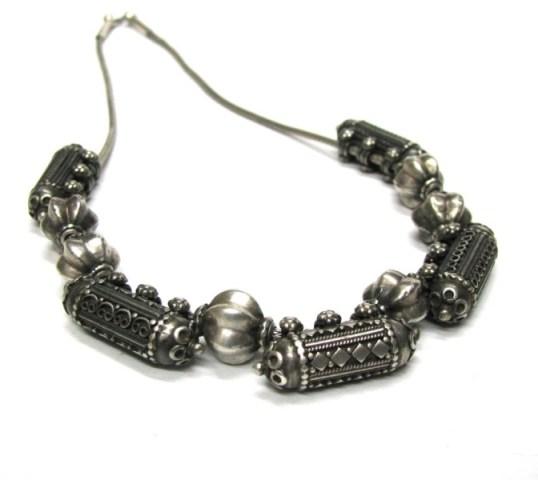 Antique Sri Lankan Necklace or South Indian, Taviz, Prayer Box Necklace, 51cm (20″) Chain, 75Gms