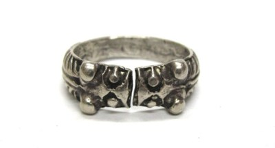 Vintage Indian Ring, Makara Heads