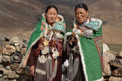 Women from Spiti, Himachal Pradesh