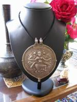 Antique India Amulet, Bhairava Form of Shiva