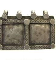 Antique Indian Amulet, Family Unity Symbol Pendant