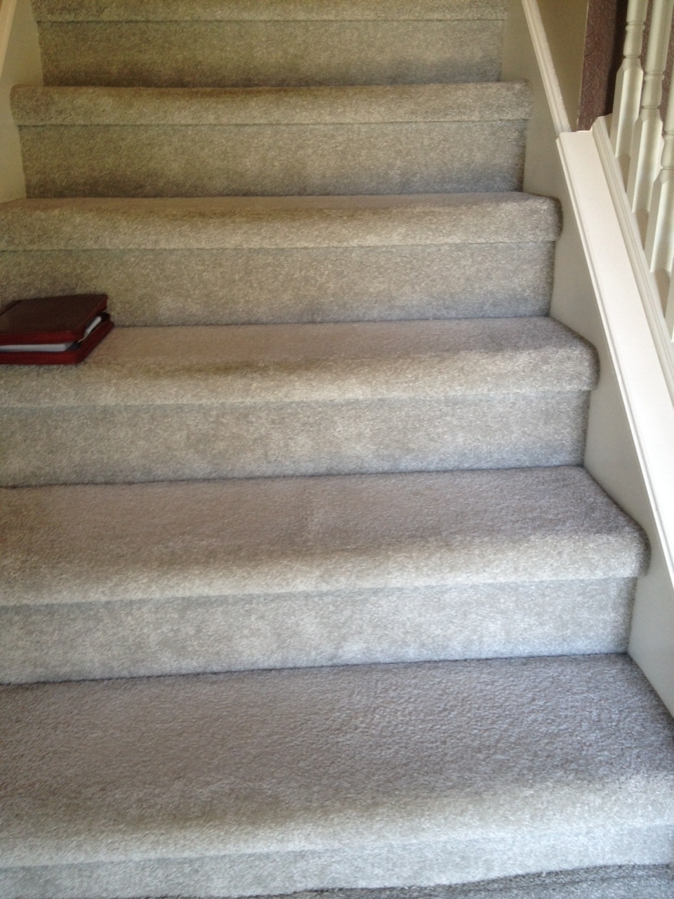 Carpet On Stairs Not Installed Correctly Indianapolis Carpet   Putting Carpet On Stairs   Modern   Colour   Design   Gray   Protector