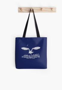 Indiana Raptor Center barn owl tote bag