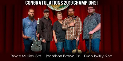 2019 Indiana Fingerstyle Guitar Fest Winners