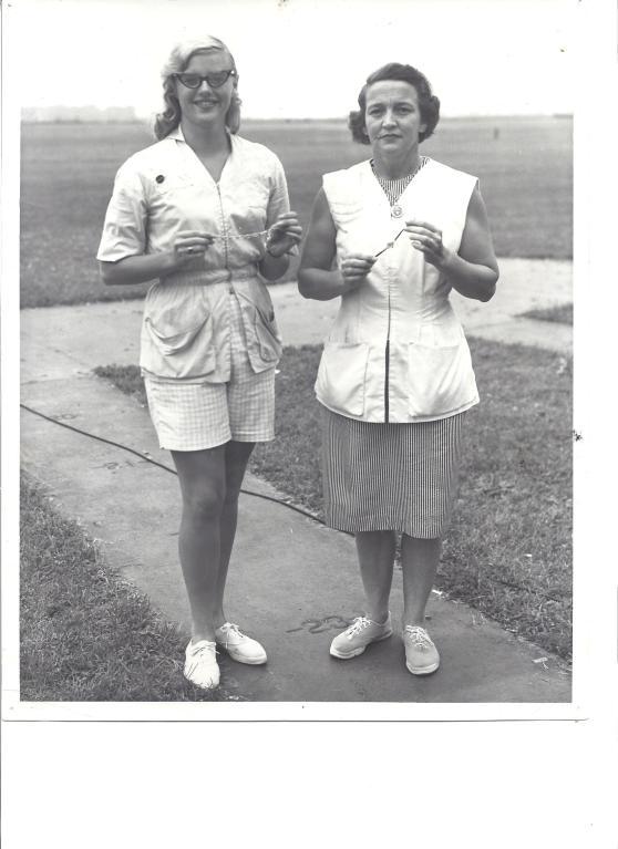 Sharon Kingen & Elizabeth Dickey at Vandalia, OH