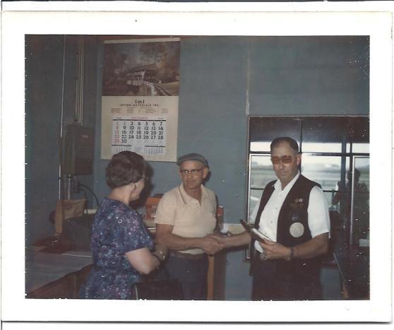 Maye Toliver, Dennis Kingen & Earl Toliver at Kingen Gun Club