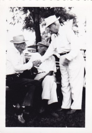 Rock and Ralph Jenkins (sitting)