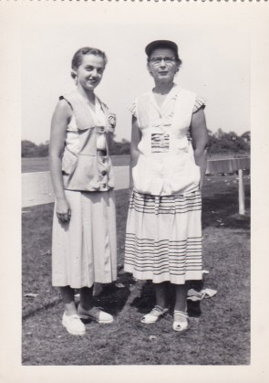 Billie Jean Cheek (left), Leone McClintock