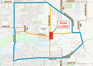 113th Street Road Closure