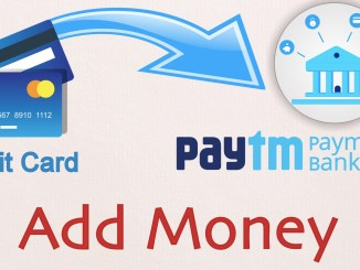 Add Money in Paytm Payments Bank from your debit card without charges