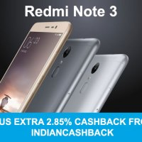Great offer: Xiaomi Redmi Note 3 just for Rs.9,669 !!