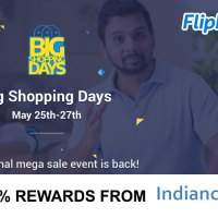 Flipkart Big Shopping days May 25 to 27, 2016
