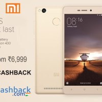 Redmi 3S: Launch, specs and Cashback offers