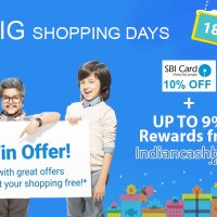 Flipkart is back with Big Shopping Days