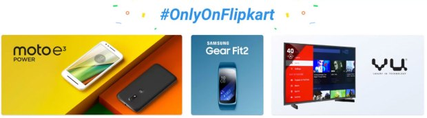 onlyon flipkart big shopping days exclusive list cashback discount deals