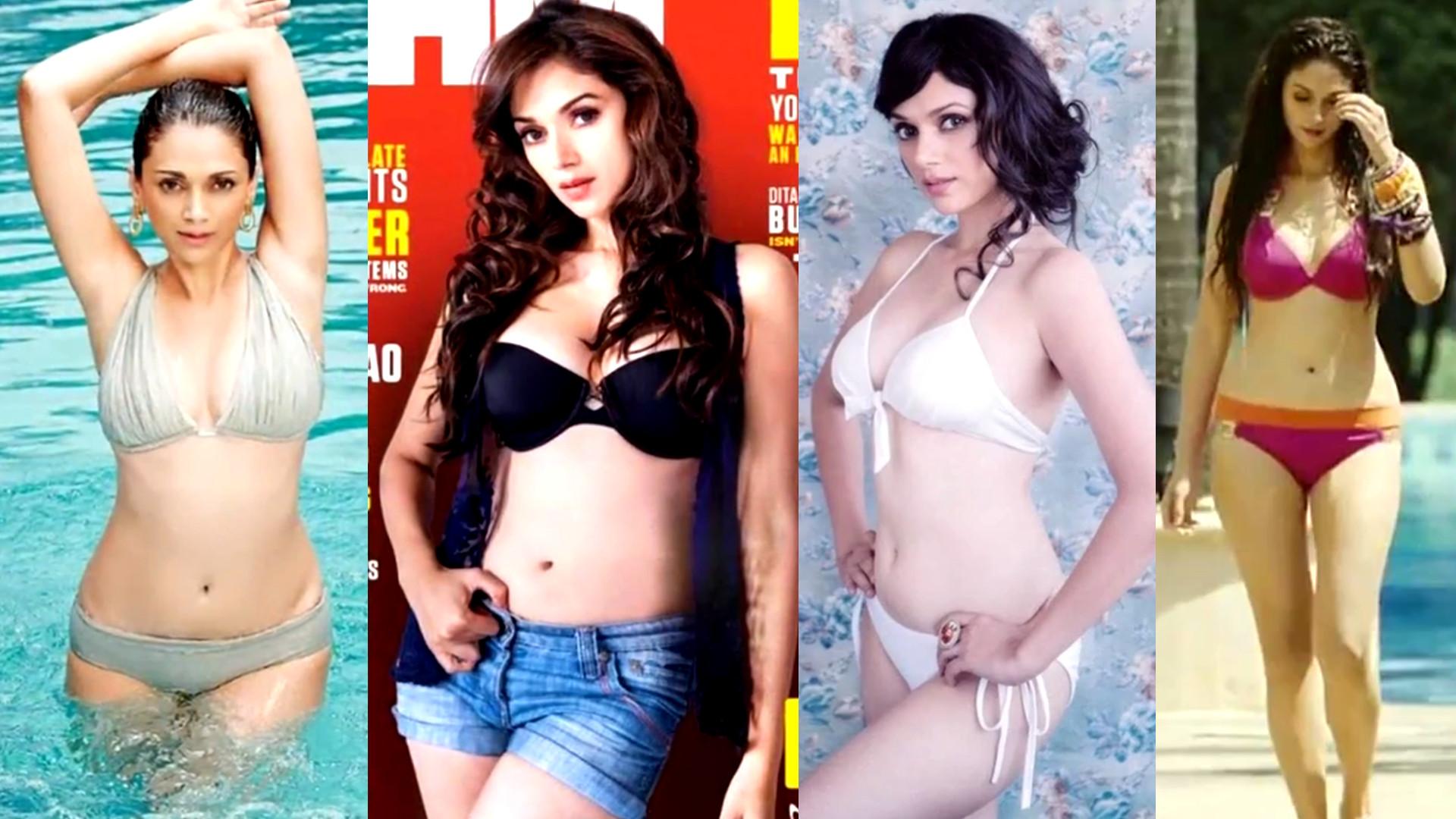 Aditi Rao Hydari Hot Bikini Swimsuit Lingerie Pics
