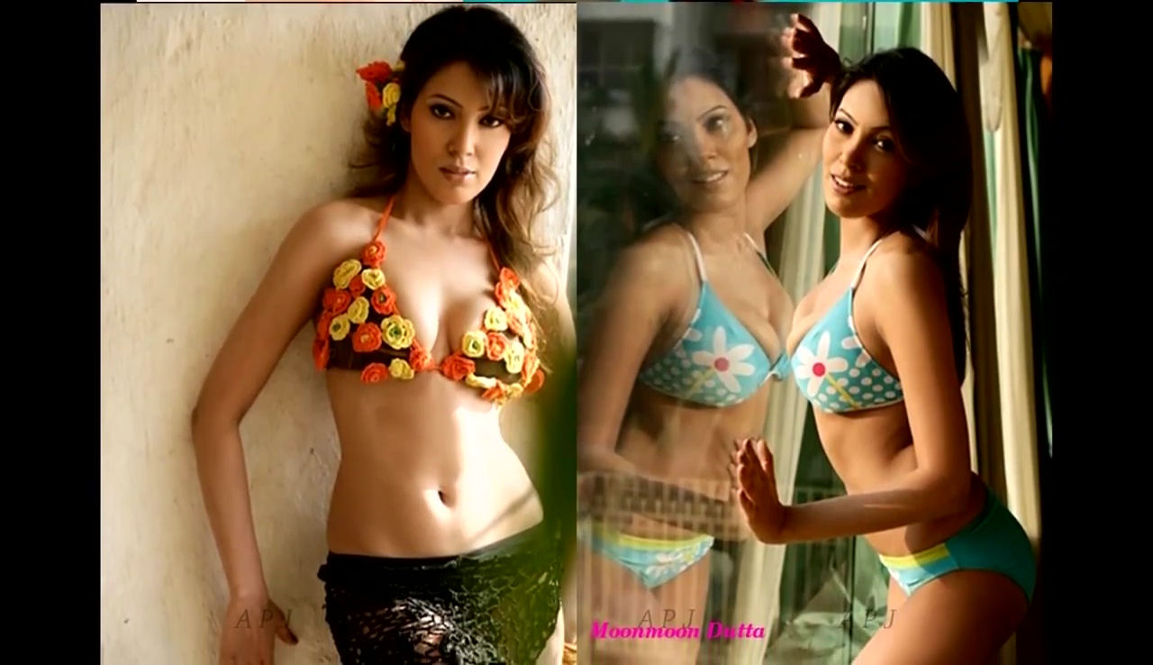 Moonmoon dutta Bollywood Actress Hot Bikini Photo 23