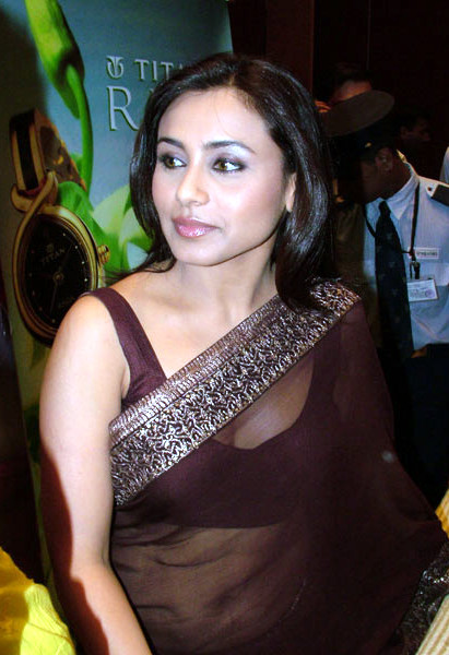 Rani Mukherjee_018_BWEvent Brown TSaree
