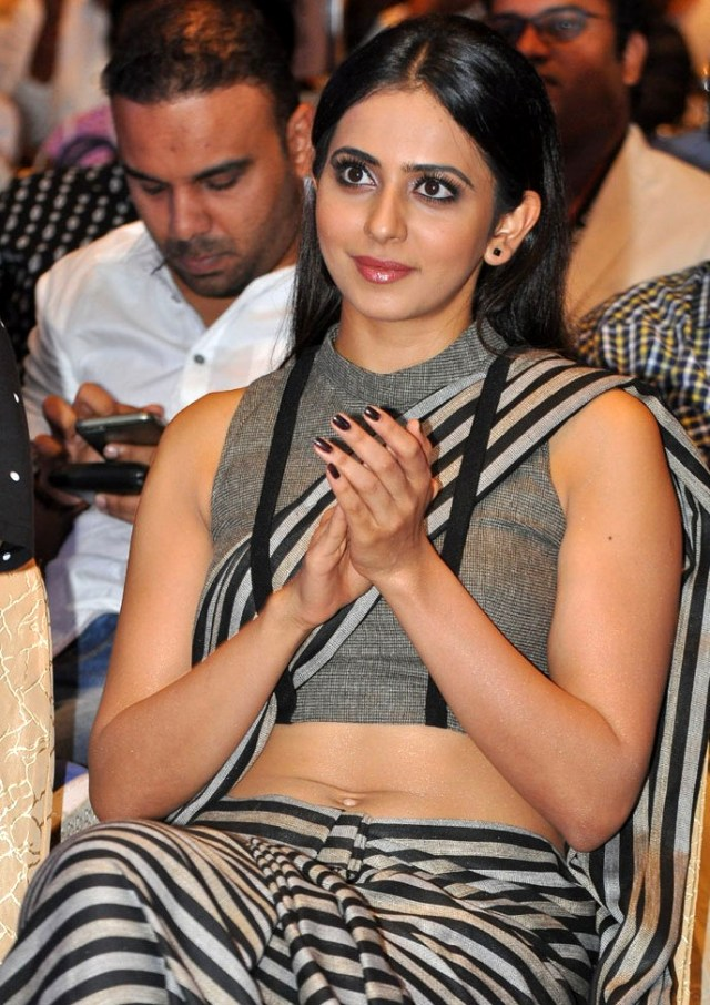 Rakul Preet Singh_010_Abhinetri Audio West Navel