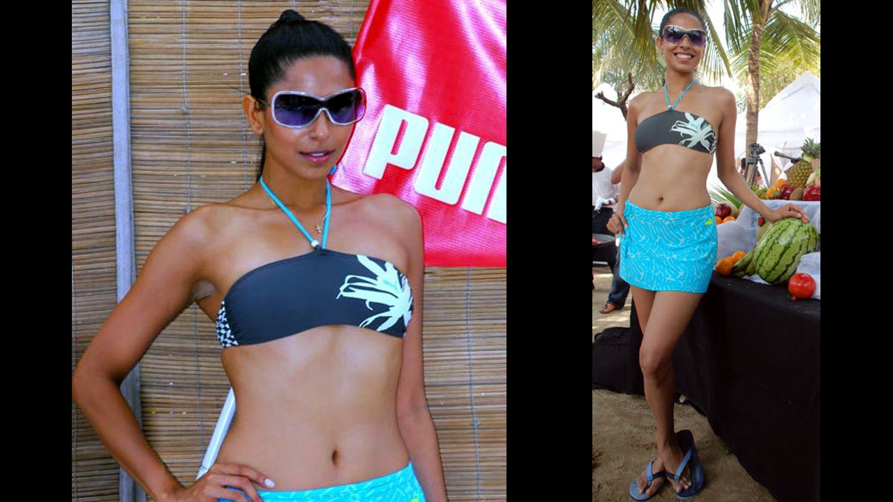 Candice Pinto_024_Puma Swimwear launch_Bikini