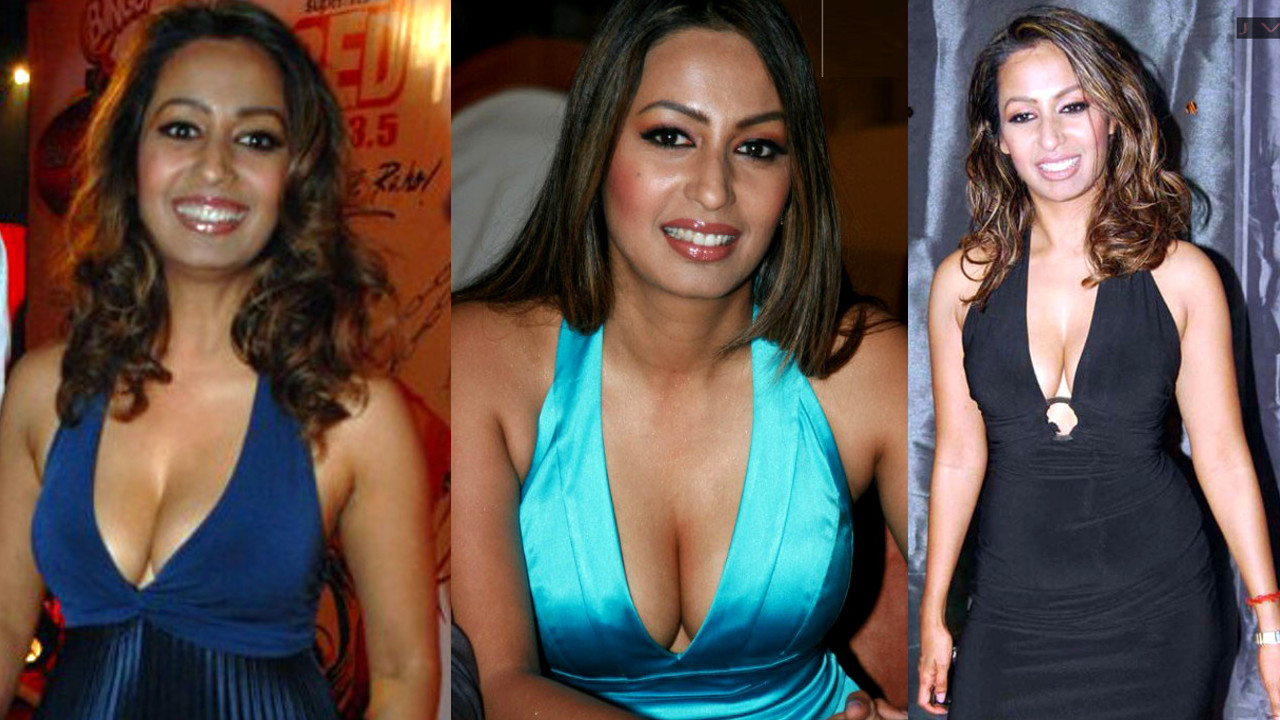 Kashmira Shah Hot Cleavage show in deep neck gowns