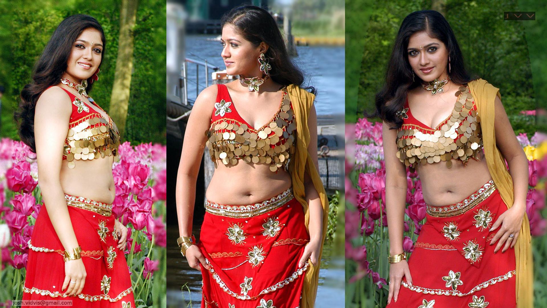 Meghana Raj expose navel cleavage telugu film hot stills