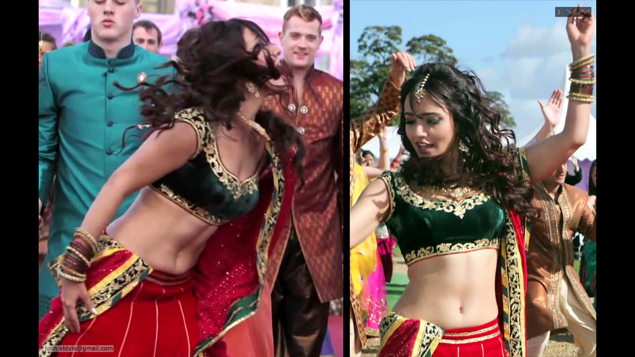 Neha Sharma_006_lahenga navel hot