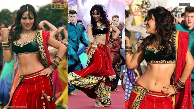Neha Sharma_007_lahenga navel hot