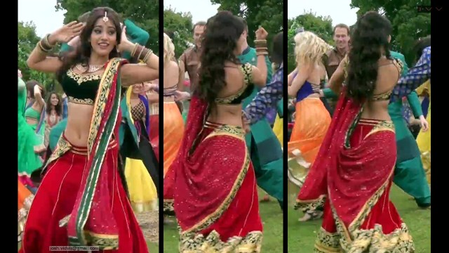 Neha Sharma_011_lahenga navel hot