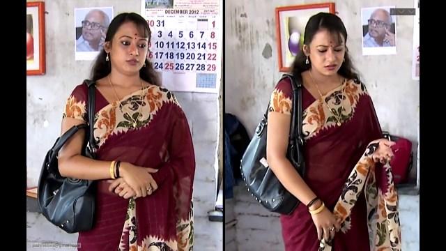 Sreeja_Bommalattam_002_TSaree Navel