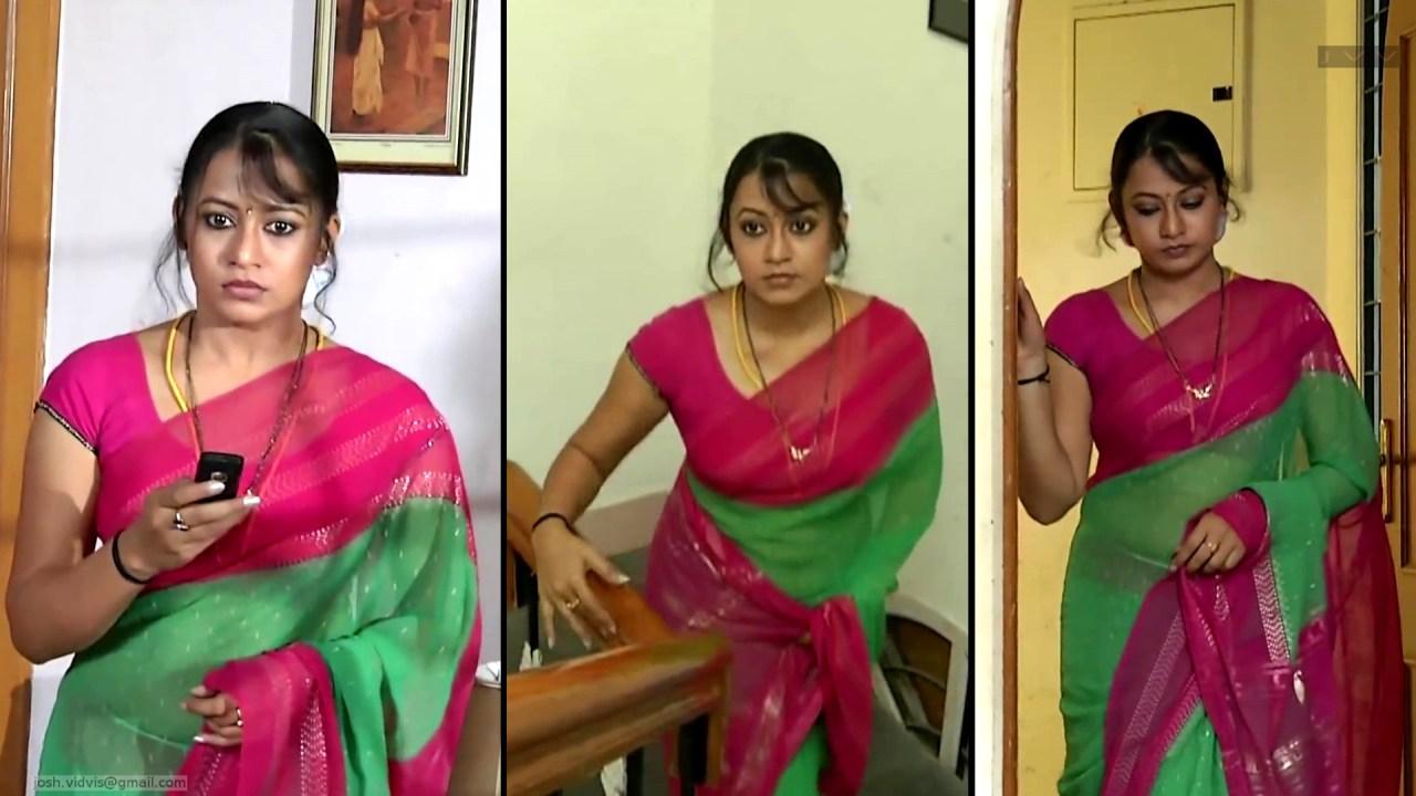 Sreeja_Bommalattam_020_TSaree Navel