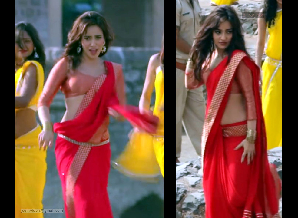 Neha Sharma_YPD2_Saree Song_03_ScrCap