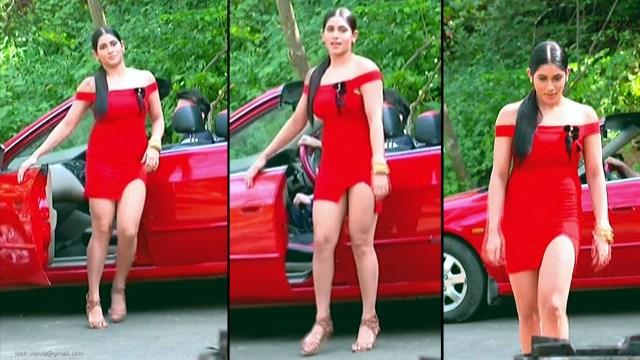 Hindi TV Actress_02_Hot Serial Caps in miniskirt
