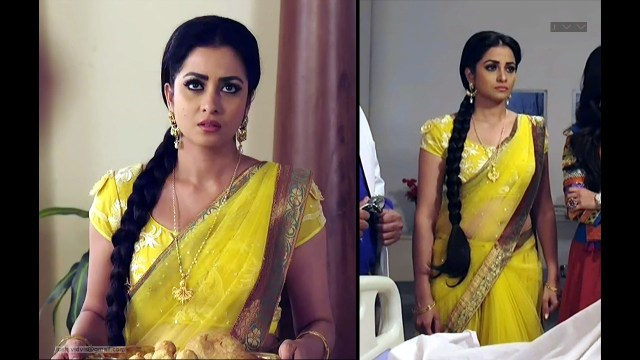 Madhura Naik_Hindi TV actress_04_Hot transparent saree