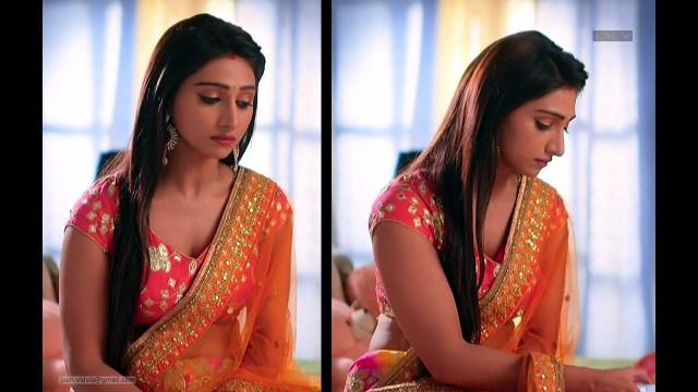 Mohena Singh_Hindi TV Celeb_08_Hot Lehenga Choli Pics