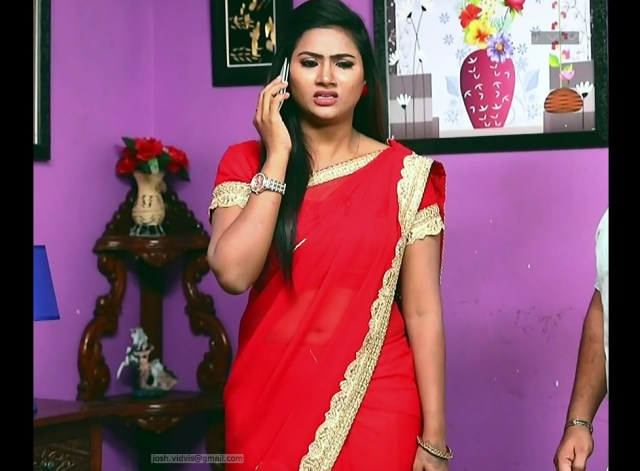Nandhini_Tamil TV Actress01_Saree Caps
