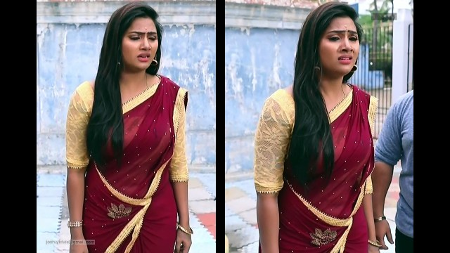 Nandhini_Tamil TV Actress05_Saree Caps