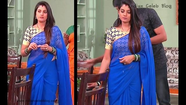 Karuna_Telugu TV Actress_06_Hot Saree Pics