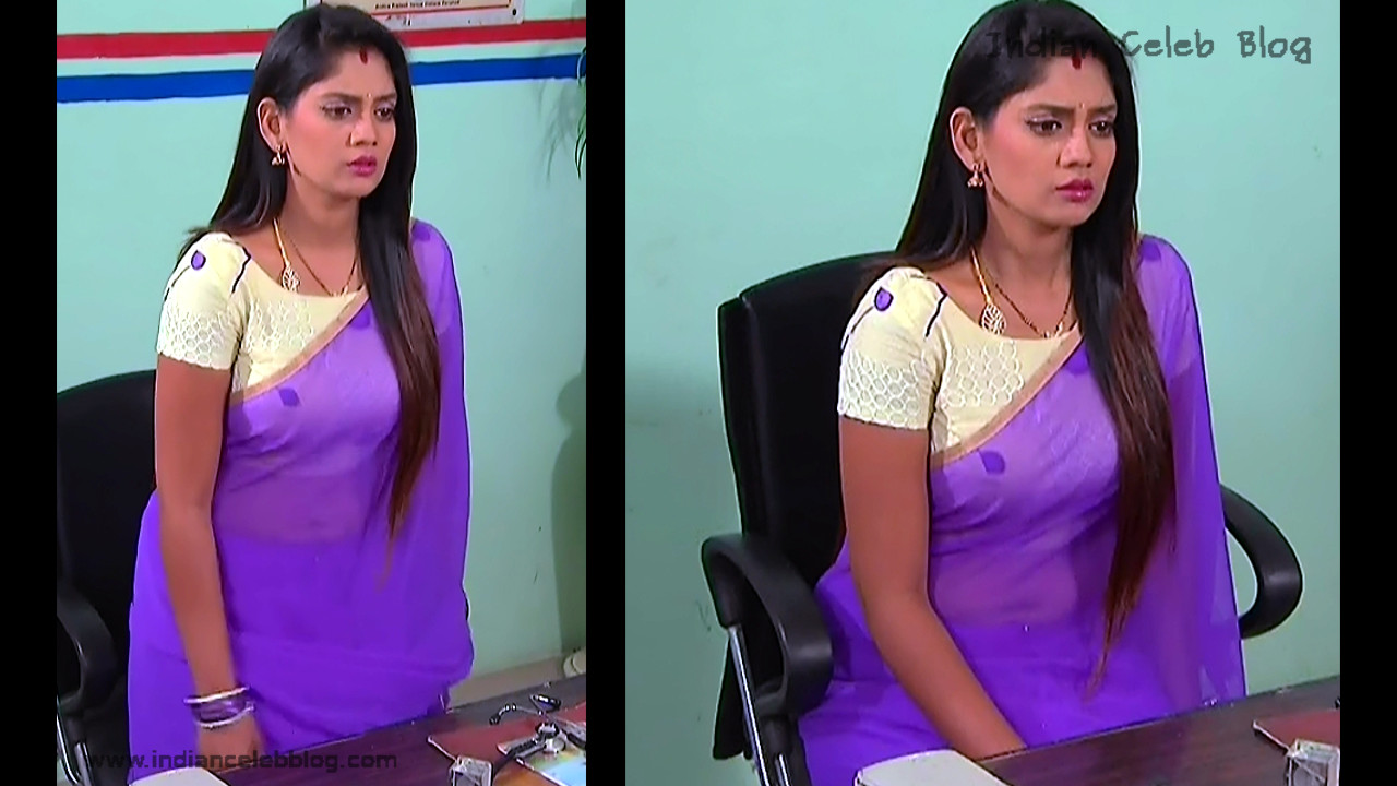 Karuna_Telugu TV Actress_07_Hot Saree Pics
