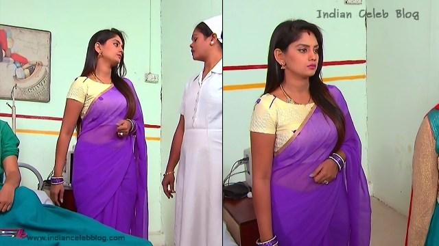 Karuna_Telugu TV Actress_12_Hot Saree Pics