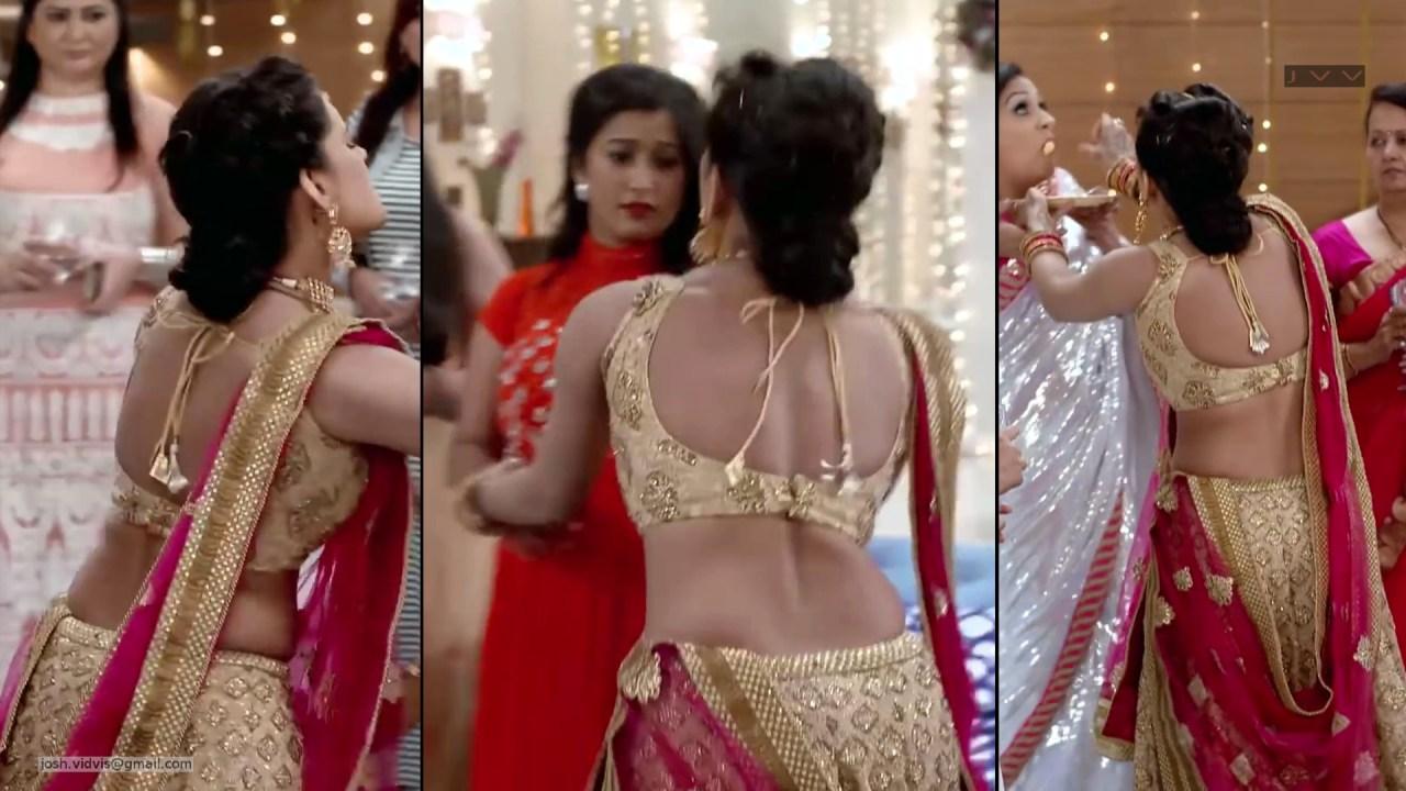 Sonal Vengurlekar_Hindi TV Actress_08_Hot Backless Lehenga Choli Pics