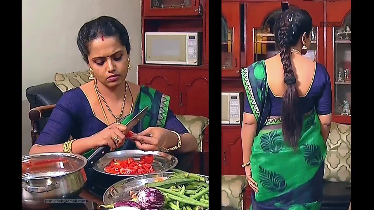 Sudha_Tamil TV Actress_06_Saree Photos
