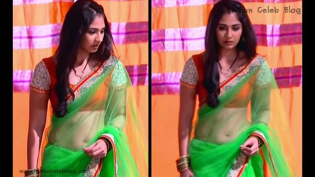 Vidhi Pandya_Hindi TV Actress_01_Hot Saree Pics